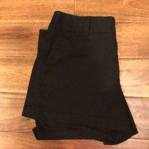 Black J.Crew shorts